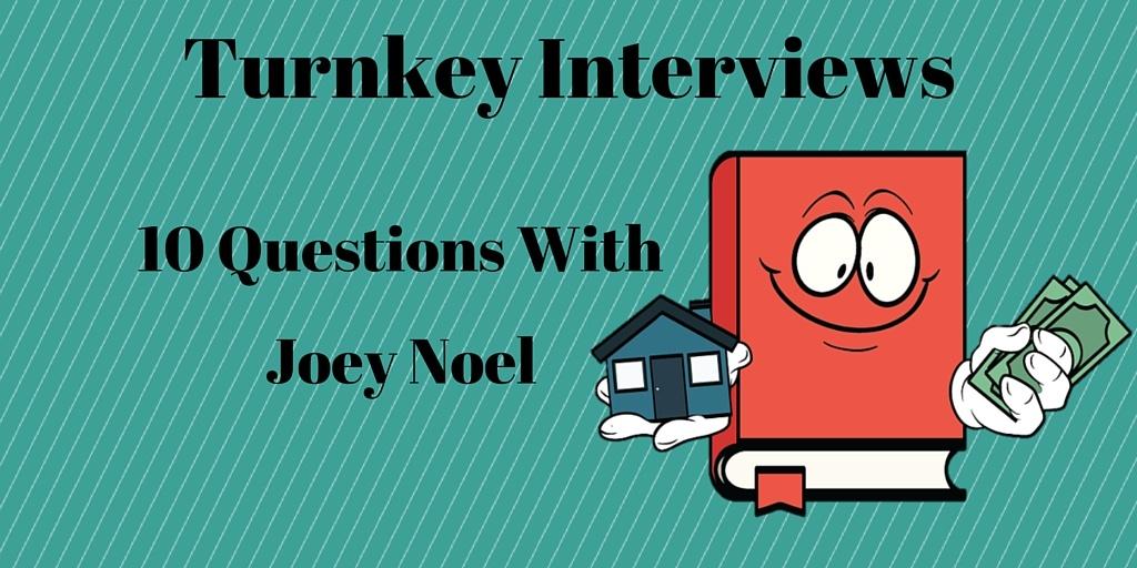 Turnkey Interviews Joey - twitter