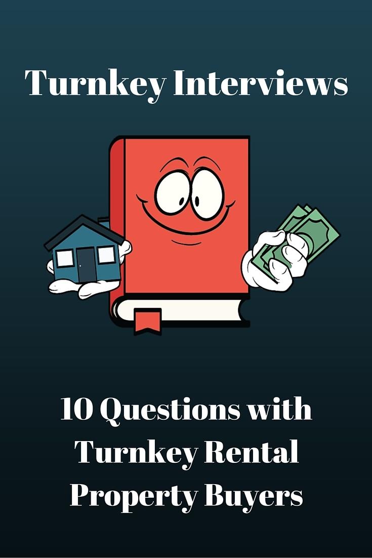 Turnkey Buyer Interviews