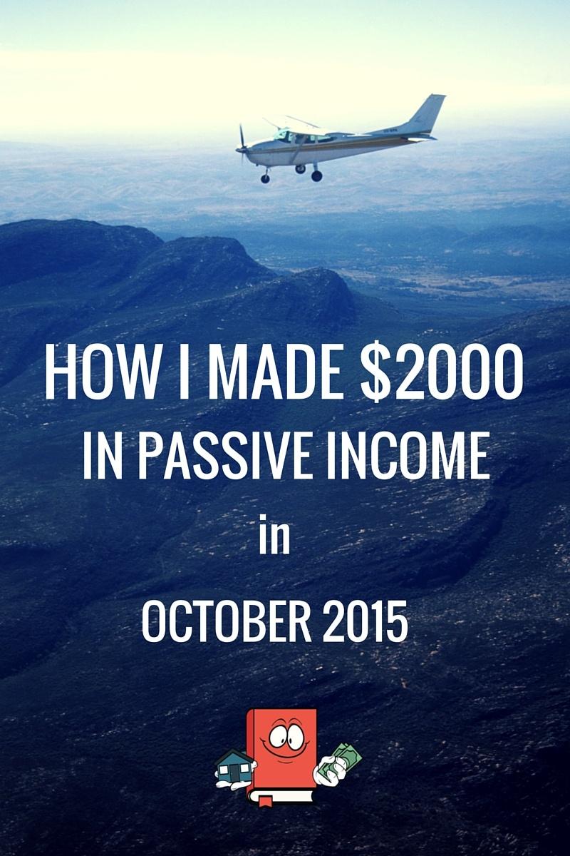 PASSIVE INCOME REPORT