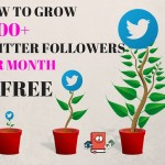 How To Grow 1,000+ Twitter Followers Per Month For Free