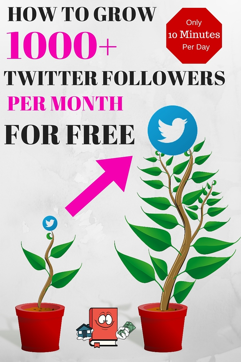 HOW TO GROW twitter followers for free