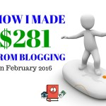 Blog Income Report and Traffic Stats – February 2016