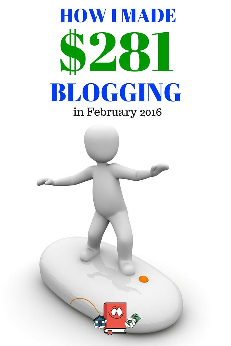 february blog income