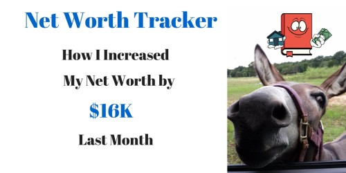 April 2016 Net Worth Tracker