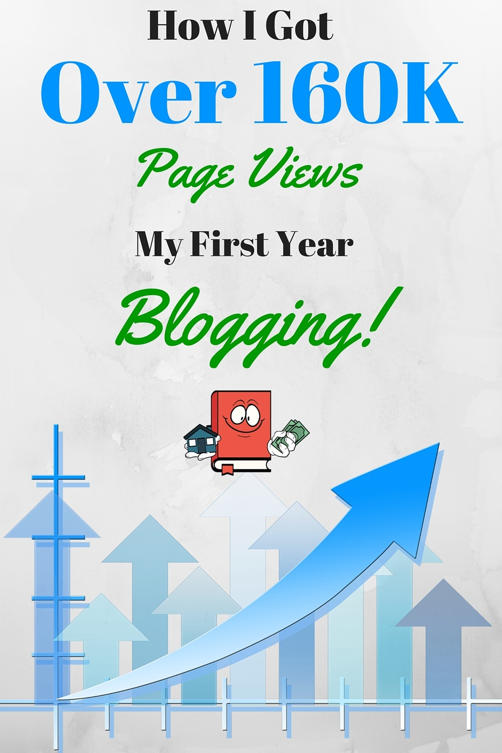 page traffic after one year of blogging