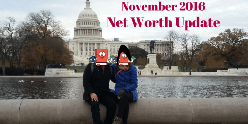 November 2016 Net Worth Update