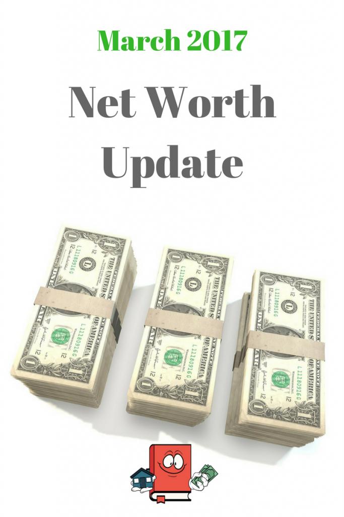 March 2017 net worth update