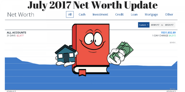 July 2017 Net Worth Update