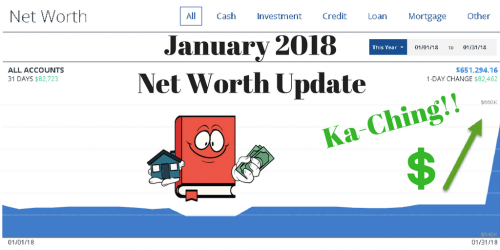 January 2018 – Net Worth Update