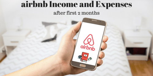 AirBnb Income and Expenses After Two Months