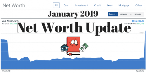 January 2019 Net Worth Update (New Quarterly Update)