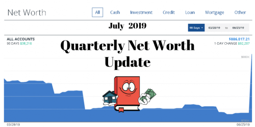 July 2019 Net Worth Quarterly Update