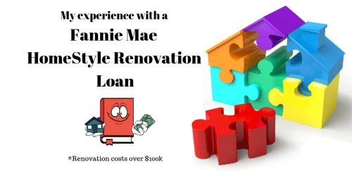 My Experience with a Fannie Mae HomeStyle Renovation Loan - 120k Purchase price + 120k Renovation Cost