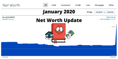 January 2020 Net Worth Update