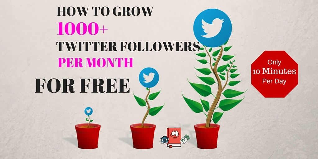 GROW TWITTER FOLLOWERS FOR FREE - twitter