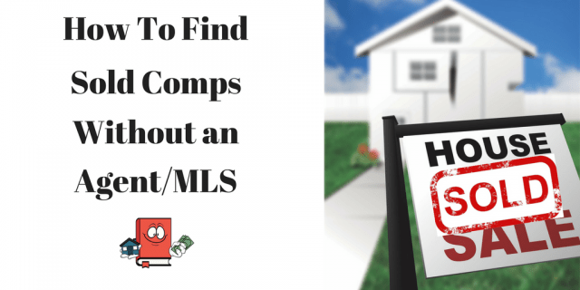 How To Find sold comparison info on real estate