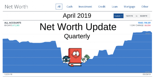 April 2019 Net Worth Quarterly Update